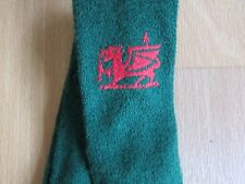 Vintage WALES / Welsh Dragon Motif Pure New Wool Tie by Abtex