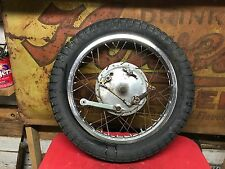 Honda CL77 305 Scrambler Front Wheel Hub  CL 77 Brake Plate Axle  2LS Cafe Rim