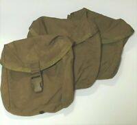 Set of 3 USMC Individual First Aid Kit, IFAK, Utility Pouch
