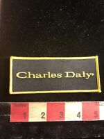 CHARLES DALY Gun Firearms Advertising Patch 90RE