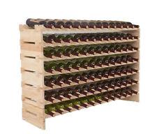 UEnjoy 21200020 - 91 Bottles Solid Wood Wine Rack