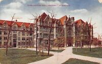 1910 Cobb Lecture Hall University of Chicago, Illinois Vintage Postcard A02