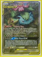 Pokemon Venusaur & Snivy GX Tag Team Ultra Rare Black Star Promo SM229