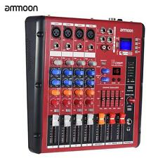 Digital Bluetooth 4-Channel Mic Line Audio Mixer Mixing Console 2-band EQ L3Z4