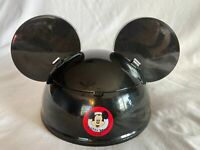 Mickey Mouse Club Ears Hat Bowl Disney Theme Parks Popcorn Dessert Ice Cream New