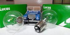 Land Rover Serie 1 80 1948-50 OEM Original Lucas Bombillas Del Faro 2X