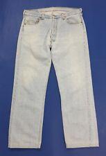 Levis 501 W36 tg 50 jeans uomo usato vintage made in usa denim boyfriend T3378