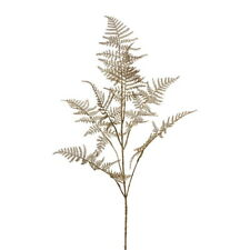 Asparaguszweig antik-gold L 88/48cm, Kunststoff, künstlich, sehr lang