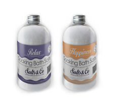 Lavender, Neroli, Orange Epsom Salts - Relax & Happiness - Salts & Co - 2x500g