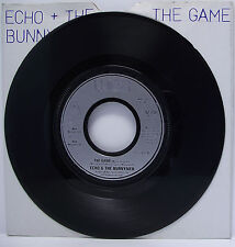 "ECHO & THE BUNNYMEN The Game 7"" Single 45rpm Vinyl VG+"