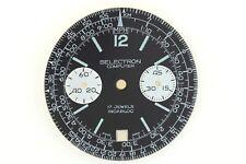 SELECTRON COMPUTER Ollech & Wajs Swiss T NOS Watch Dial 32.8mm 7734 (ZB441)