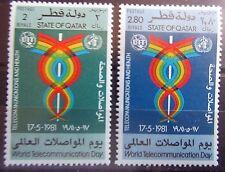 Qatar 1981 World Telecommunications Day Set. MNH.