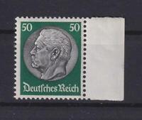 DR 492 Hindenburg 50 Pfg. Wz Waffeln postfrisch (kt106)