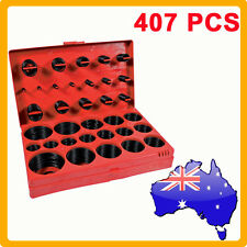 SAE Rubber O Ring Assortment Kit 407pc Imperial Grab Set Pack Industrial Auto AU
