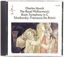 CHESKY Bizet SYMPHONY IN C Tchaikovsky FRANCESCA Munch (CD, 1987, NO UPC) CD-7