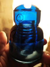 Vintage Insulator Cobalt Dark Blue Glass