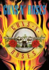 GUNS N ROSES - FLAMES - FABRIC POSTER - 30x40 WALL HANGING - MUSIC BAND 52116