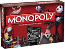 Monopoly: Tim Burton's Nightmare Before Christmas Board Game