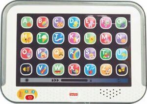 Fisher-Price CDG57 Lernspaß Tablet - Grau Baby Kinder Kleinkind Neu