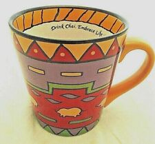 Big Train Southwest Design Drink Chai Embrace Life Coffee Mug 2002