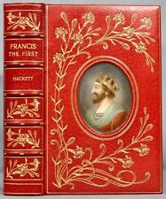 1934 Francis The First Cosway Style Bayntun Riviere Binding Extra Illustrated