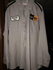 Vintage 90s Mechanic Auto Shop Shirt Men's XL-RG Long Sleeve EUC
