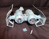 Star Wars Tie Bomber Walmart Exclusive 2010 Fighter Hasbro w/  2 Bombs 1 Missile