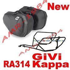 BORSE LATERALI KAPPA RA314 + TELAIO TE1101 HONDA CB1000R 08-11  GIVI