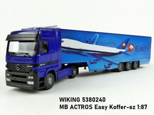 WIKING 5380240 MB ACTROS Easy Koffer-sz 1:87