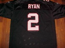 Atlanta Falcons Matt Ryan 2 NFL NFC South Reebok On Field Black White Jersey 54