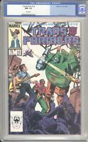 Marvel Comics TRANSFORMERS #14 CGC 9.6 NM (1986) White Pages