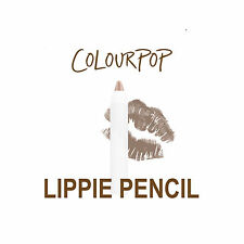 ColourPop Lippie Pencil - WET - cool-toned taupe gunmetal in a matte finish