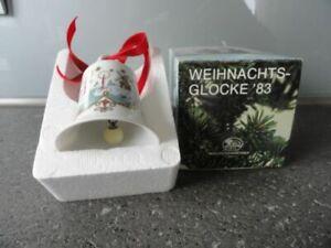 Hutschenreuther Weihnachtsglocke 1983 mit bunter OVP / u.a. angeboten