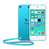 Apple MD717BT/A) 5th Generation 32 GB iPod Touch - Blue GRADE A .