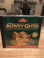 Disney's The Lion King Activity Center (Windows/Mac, 1995)