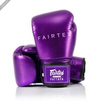 Fairtex BGV22 Metallic Purple Boxing Gloves Muay Thai boxing Training Kickboxing
