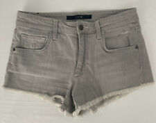 Joe'S Sz26 Gray 1O� Hi-Rise Cut Off Frayed Hem Jean Shorts Nessie $148 So Hot !