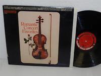 VARIOUS: ROMANTIC CONCERT FAVORITES LP Columbia Special Products CSS 346 album