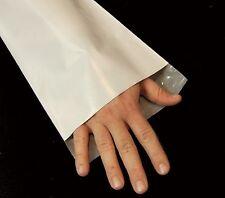 100 9x12 TUFF Poly Mailers 9 x 12 White Self Sealing Bags Envelopes