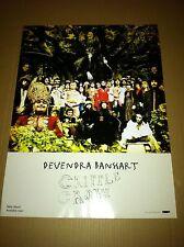 DEVENDRA BANHART 2005 PROMO POSTER for Cripple Crow CD USA NEVER DISPLAYED 24x18