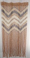 Handmade Wooden beaded Curtain doorway door room window divider wood new beads