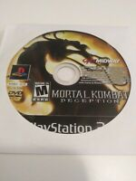 Mortal Kombat: Deception (Sony PlayStation 2, 2004) Disc Only - Tested