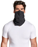 Tommie Copper Face Mask Gaiter Neck Covering - Adjustable Double Layer Comfort