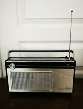 Très Vintage Radio Portable PHILIPS AUTOMATIC Fonctionnel