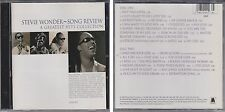Song Review STEVIE WONDER Greatest Hits Collection 1996 2 CD Set Anthology