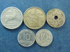 Monedas España España 10 CENTIMOS 50 CENTIMOS 5 asociaciones franco