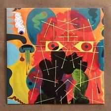 """Tim Biskup Signed Sketch Original Art Big Butter Vinyl Record 7"""" Single EP Rare"""