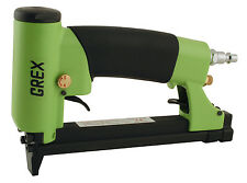 """Grex 22 Gauge 3/8"""" Crown Auto-Fire Upholstery Stapler - 71AF Free Staples"""