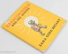Epaminondas And His Auntie by Sara Cone Bryant 1938 with Dust Jacket