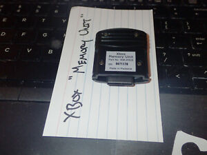 Microsoft Xbox Memory Unit ORIGINAL XBOX MEMORY CARD UNIT X08-25319 OEM